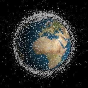 Déchets dans l'espace