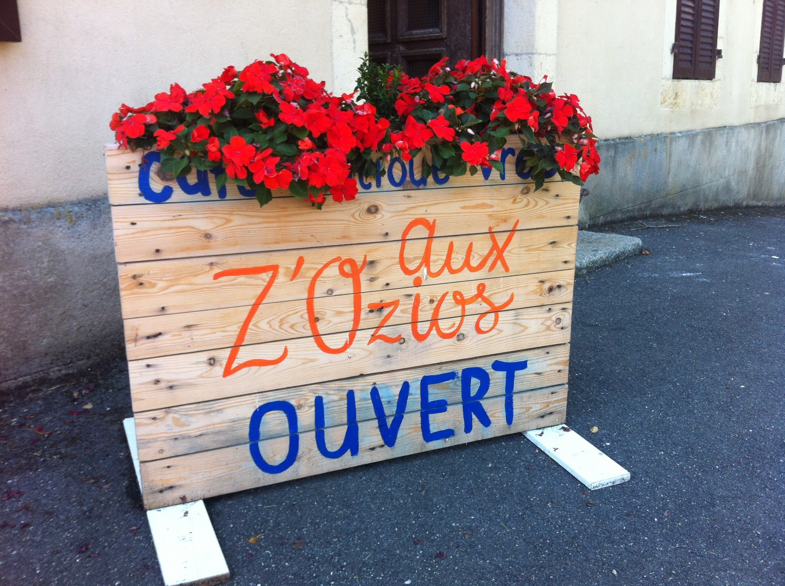 Aux Z'ozios à Bofflens : produits vrac, artisanaux ou locaux
